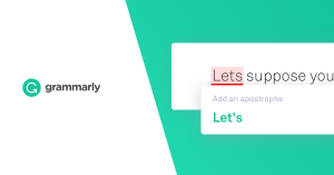 A picture of Grammarly - the World's Most Accurate Online Grammar Checker